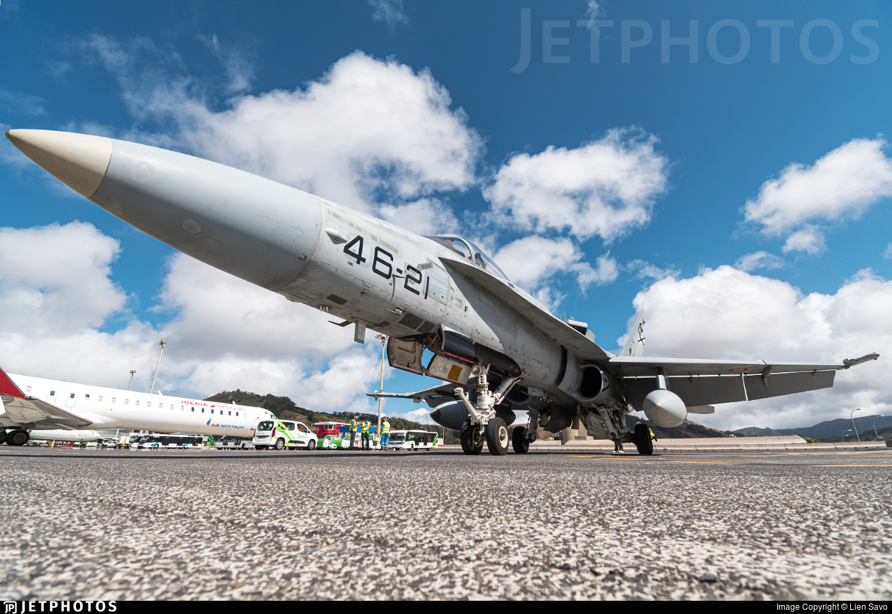 C.15-93 - McDonnell Douglas F/A-18A+ Hornet - Spain - Air Force