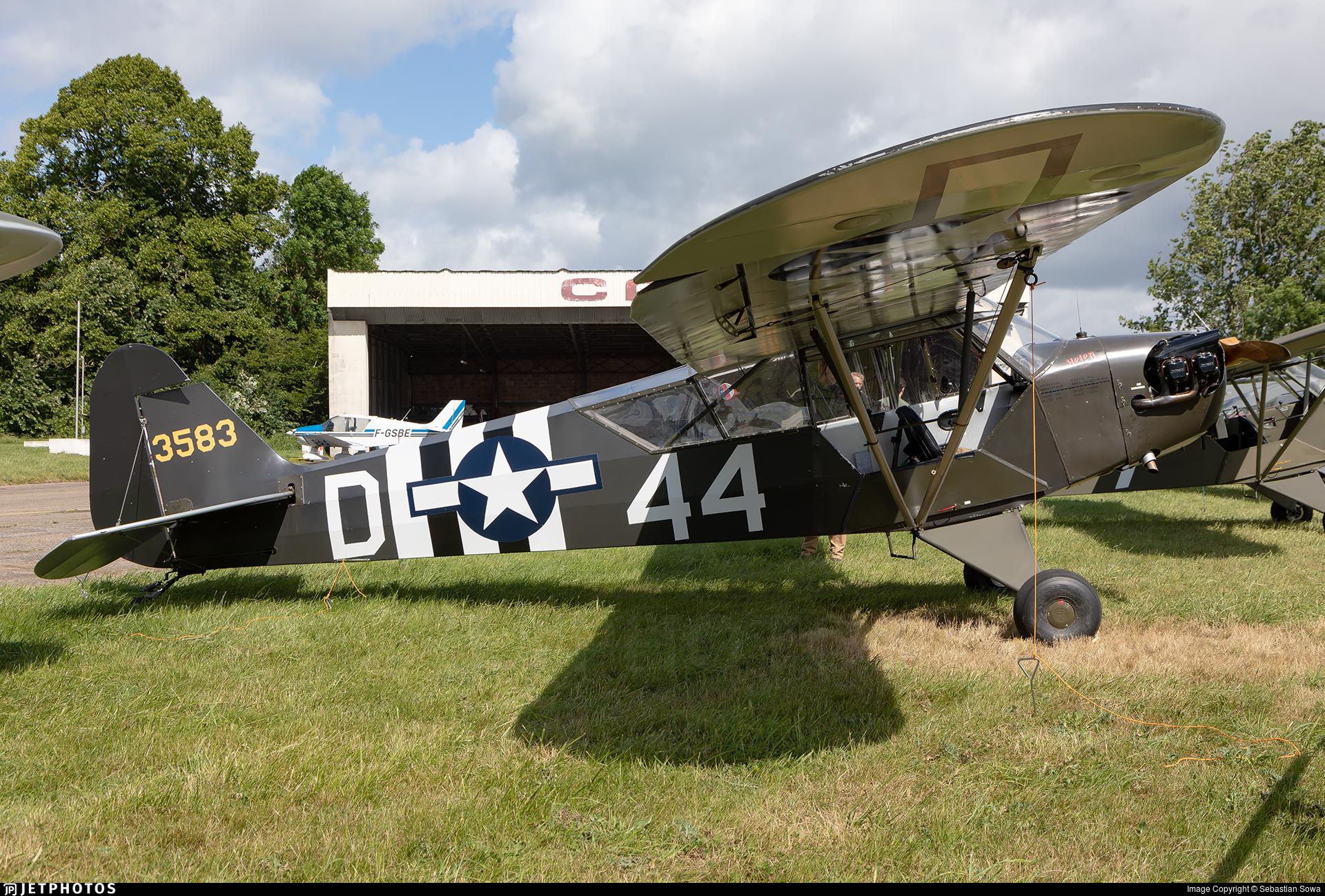G-FINT - Piper L-4B Grasshopper - Private