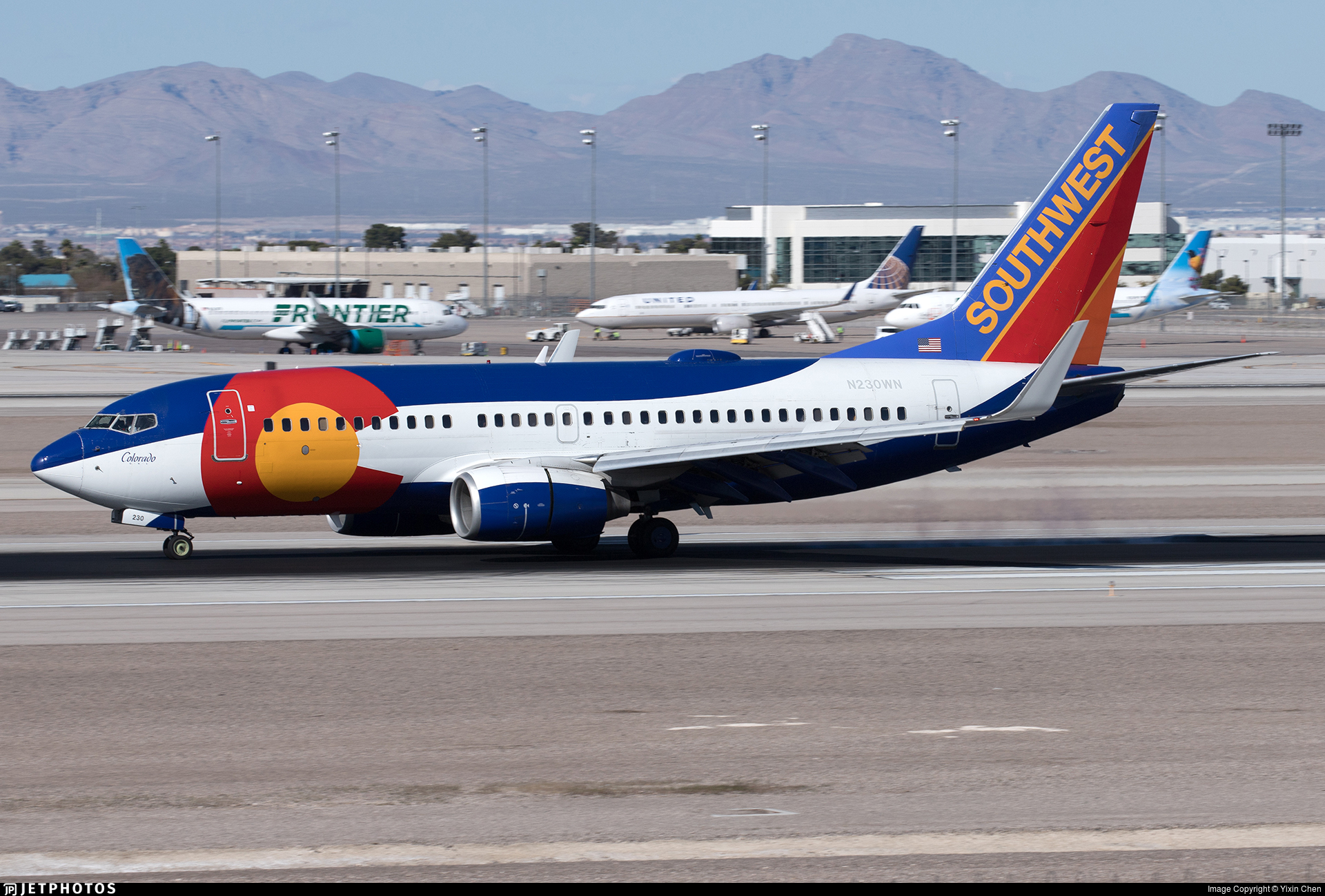 N230WN - Boeing 737-7H4 - Southwest Airlines