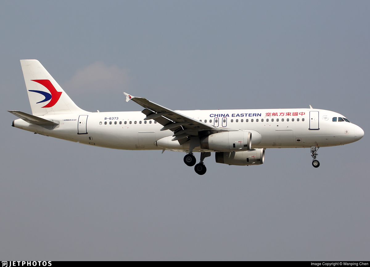 B-6373 - Airbus A320-232 - China Eastern Airlines