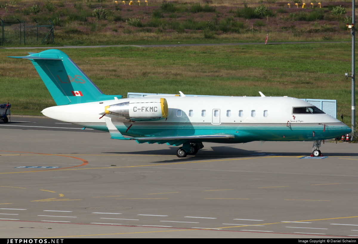C-FKMC - Bombardier CL-600-2B16 Challenger 604 - London Air Services