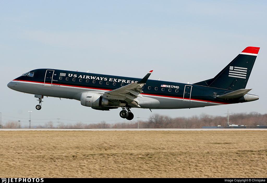 N817MD - Embraer 170-100SU - US Airways Express (MidAtlantic Airways)