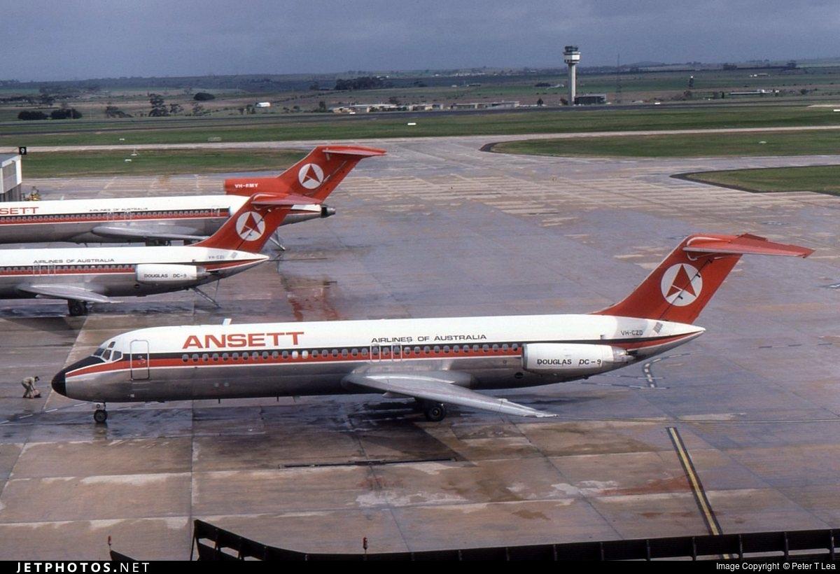 VH-CZD - McDonnell Douglas DC-9-31 - Ansett Airlines of Australia