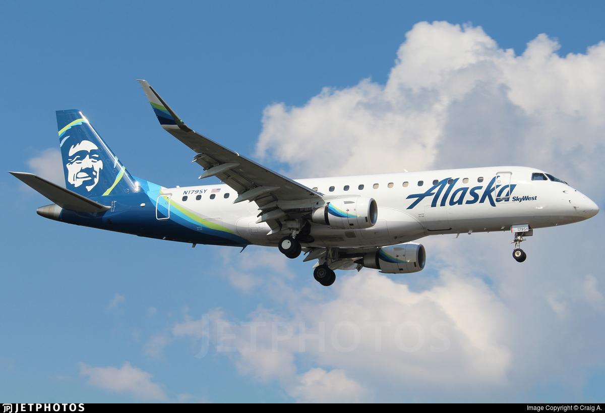 N179SY - Embraer 170-200LR - Alaska Airlines (Skywest Airlines)