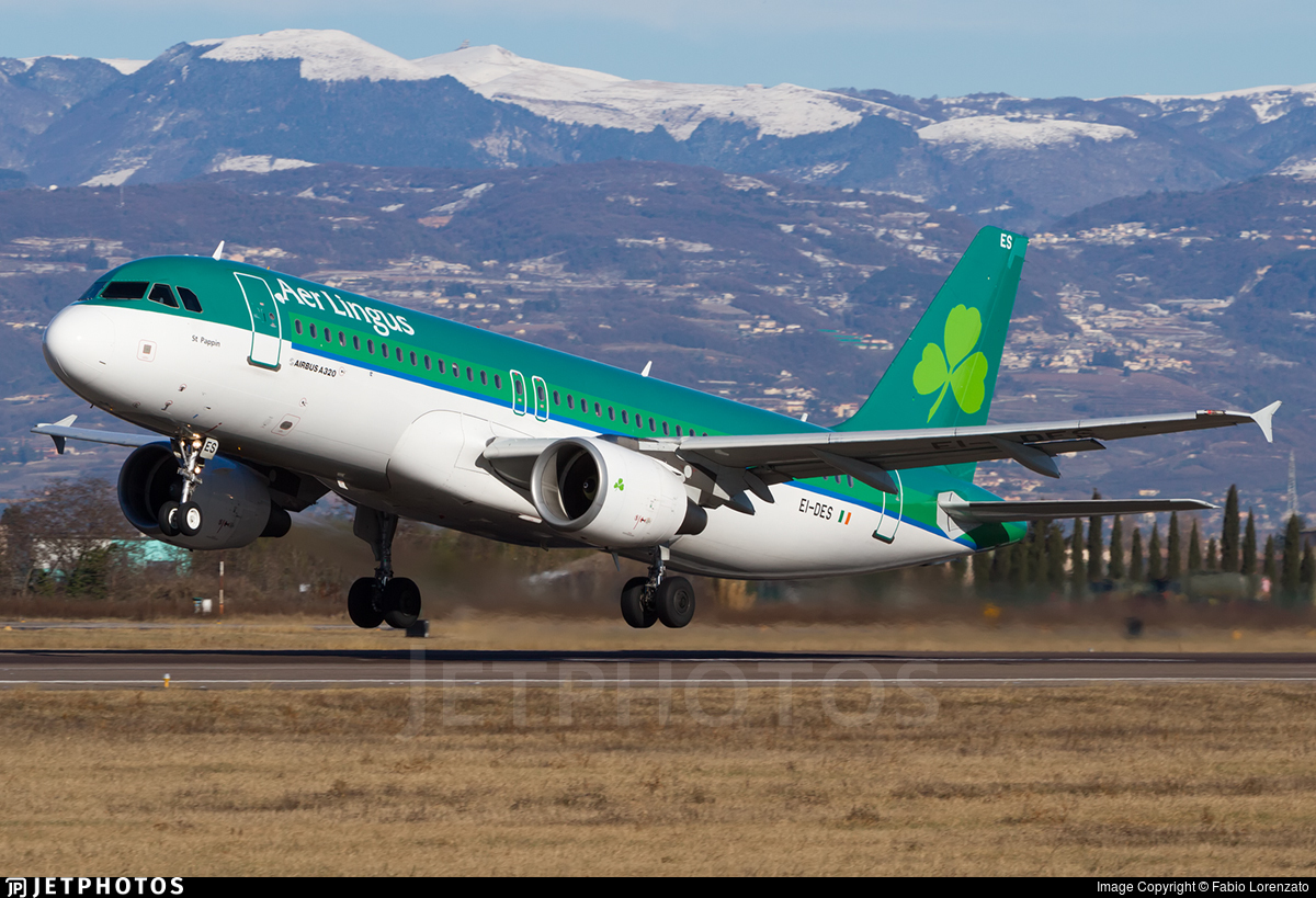 EI-DES - Airbus A320-214 - Aer Lingus