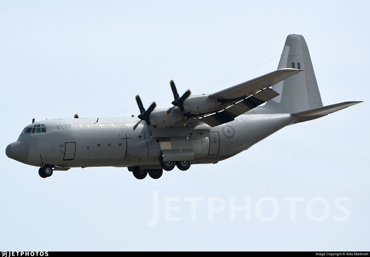 397 - Lockheed L-100-20 Hercules - Perú - Air Force