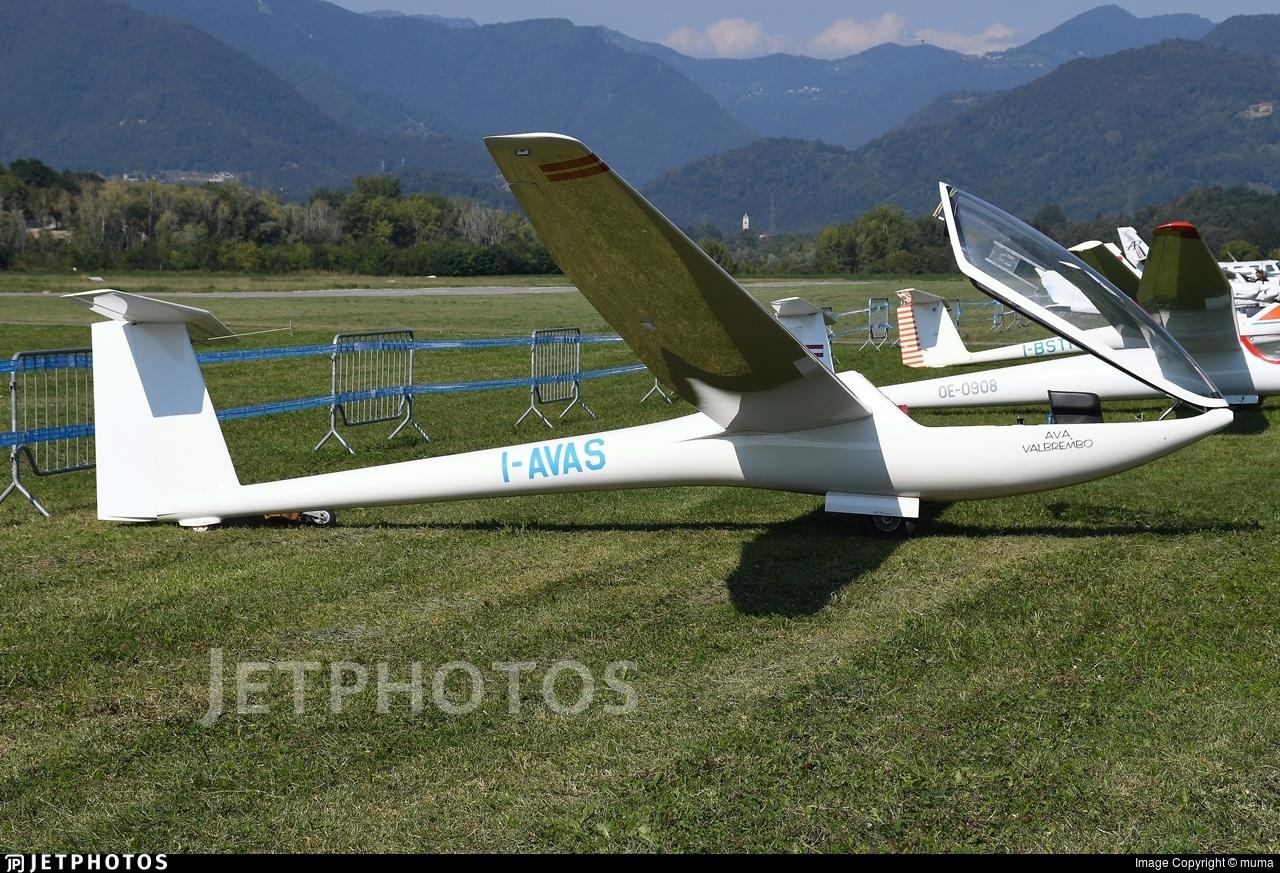 I-AVAS - Glaser-Dirks DG-300 - Aeroclub Volovelistico Alpino Valbrembo (BG), Italy