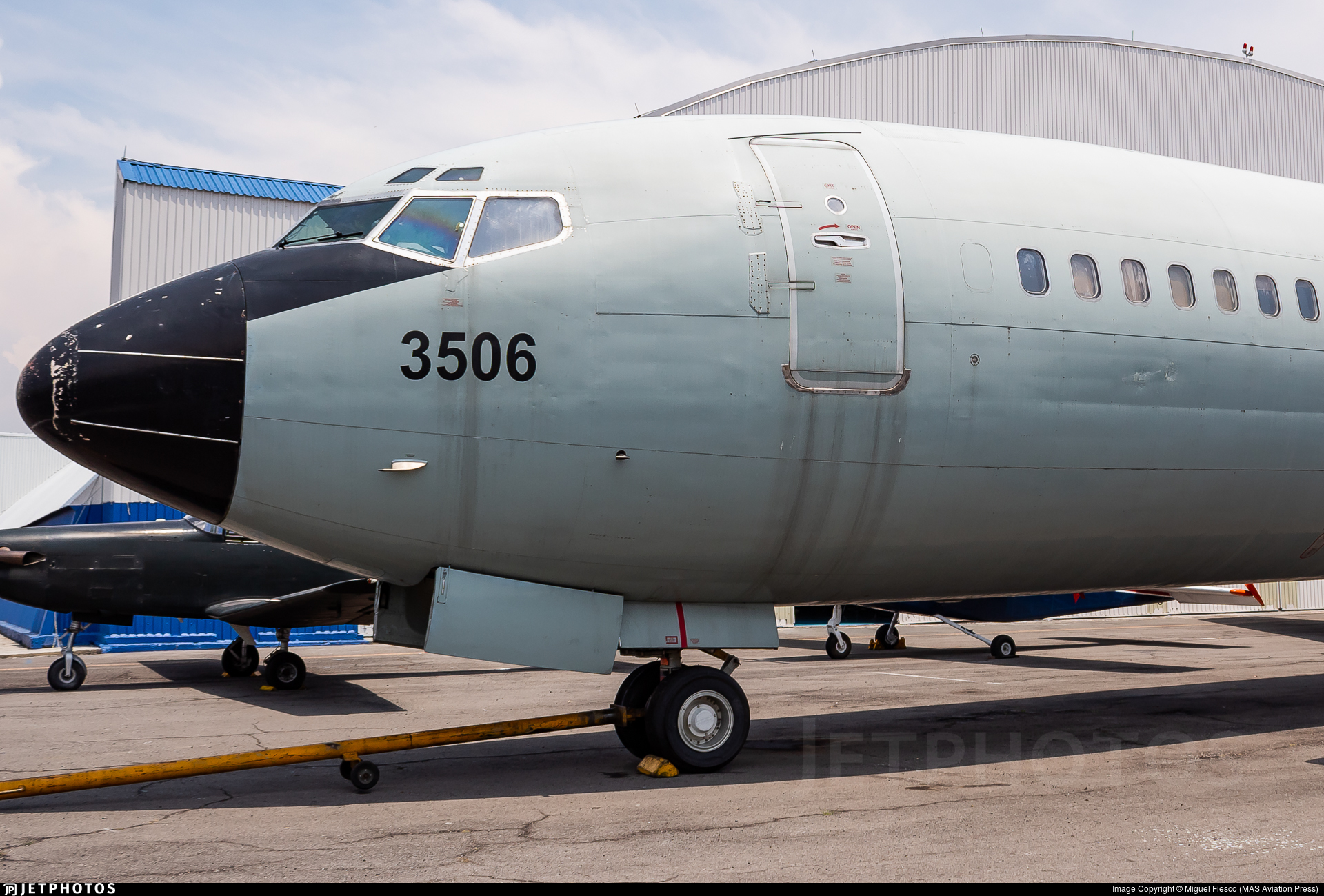 3506 - Boeing 727-264(Adv) - Mexico - Air Force