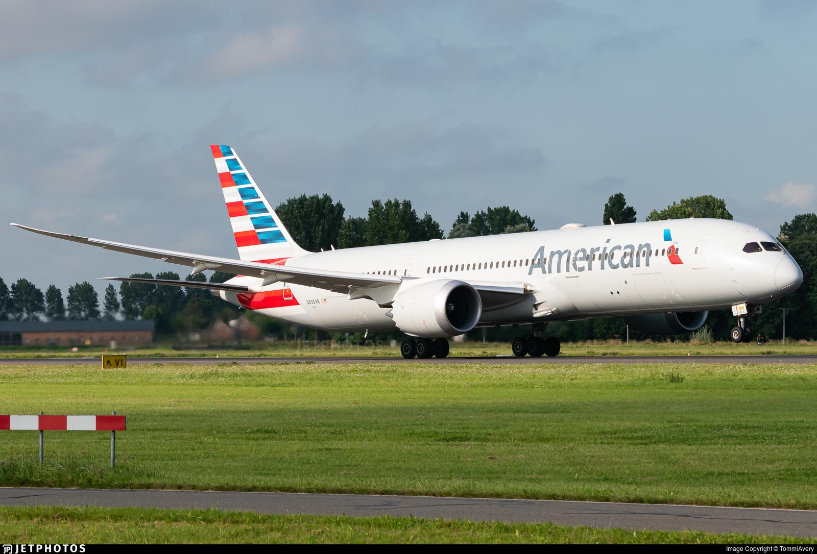 N835AN - Boeing 787-9 Dreamliner - American Airlines