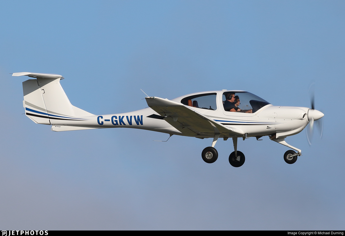 C-GKVW - Diamond DA-40 Diamond Star - Fly Genesis