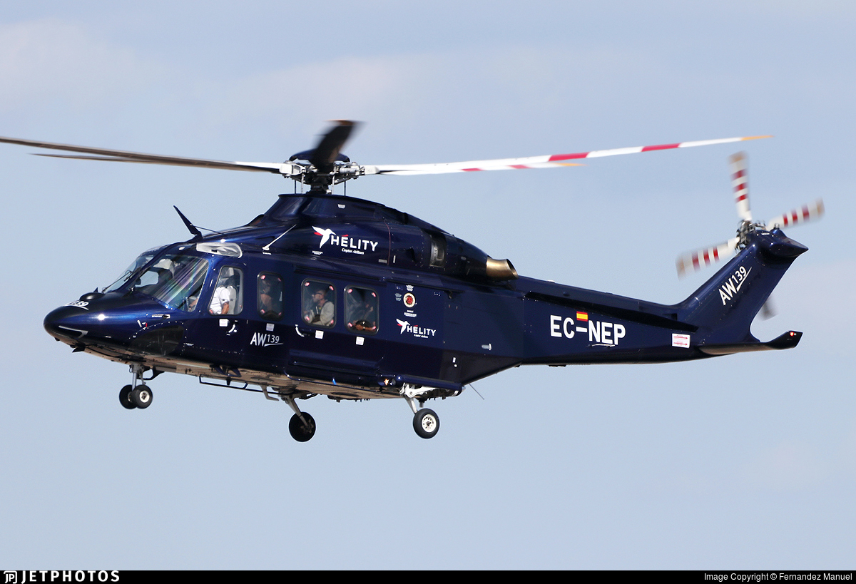 EC-NEP - Agusta-Westland AW-139 - Hélity Copter Airlines