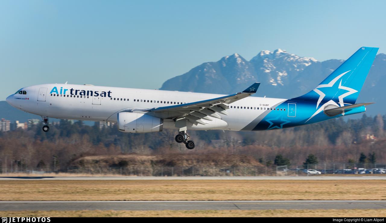 C-GUBF - Airbus A330-243 - Air Transat