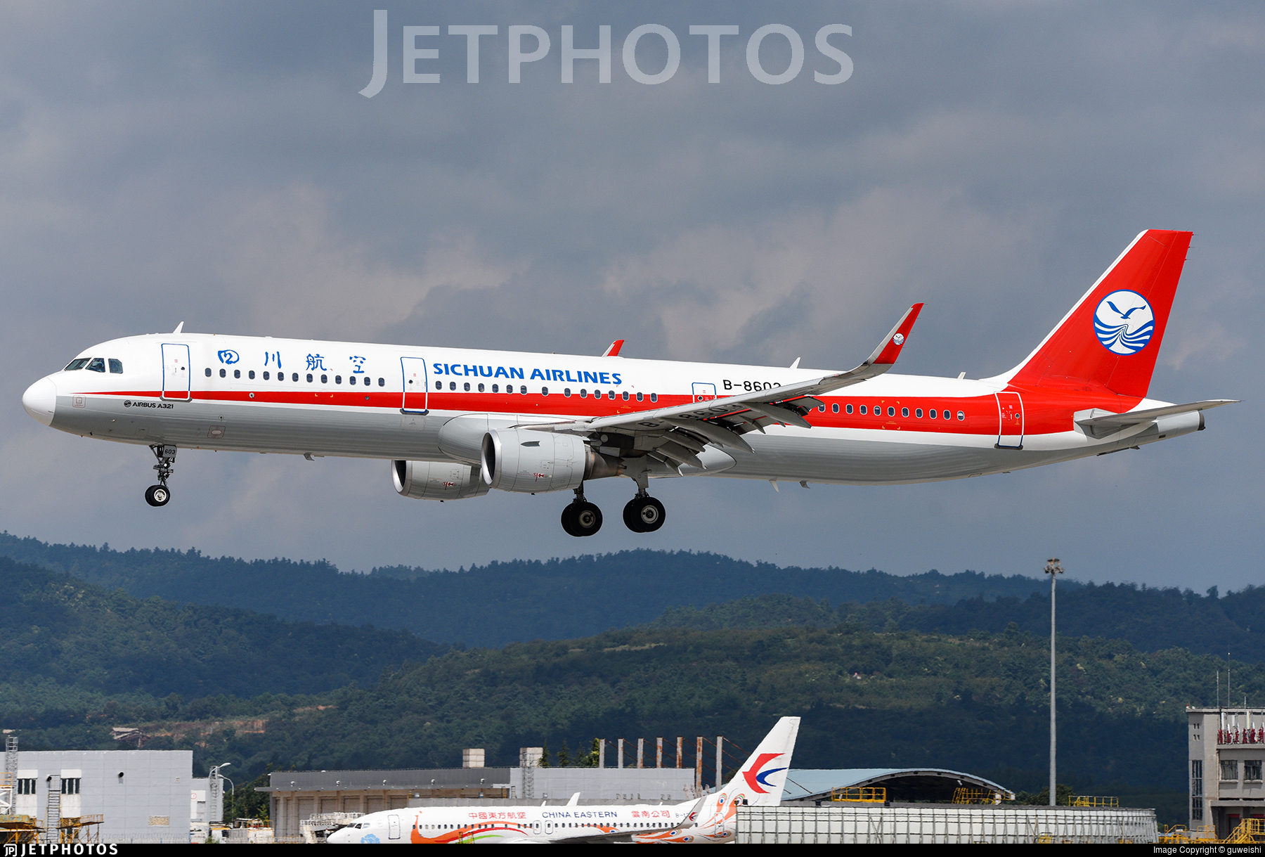 B-8603 - Airbus A321-211 - Sichuan Airlines
