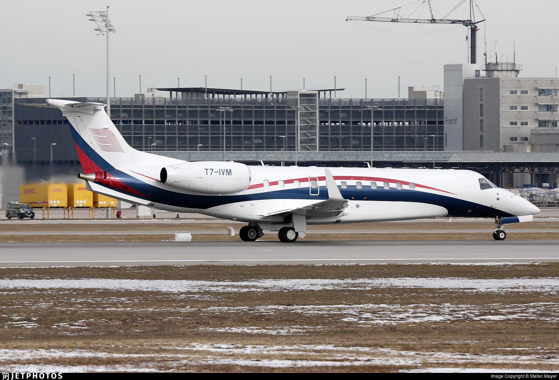T7-IVM - Embraer ERJ-135BJ Legacy 650 - Private