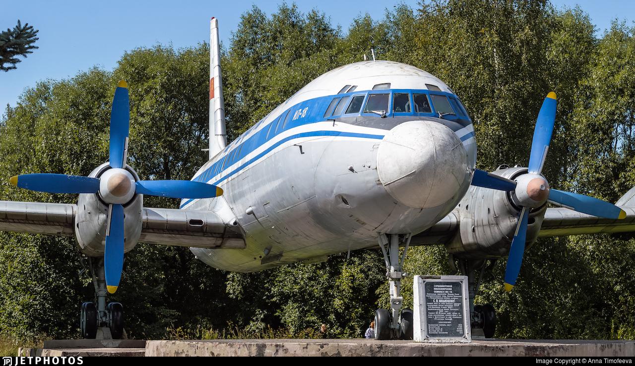 CCCP-75518 - Ilyushin IL-18B - Aeroflot