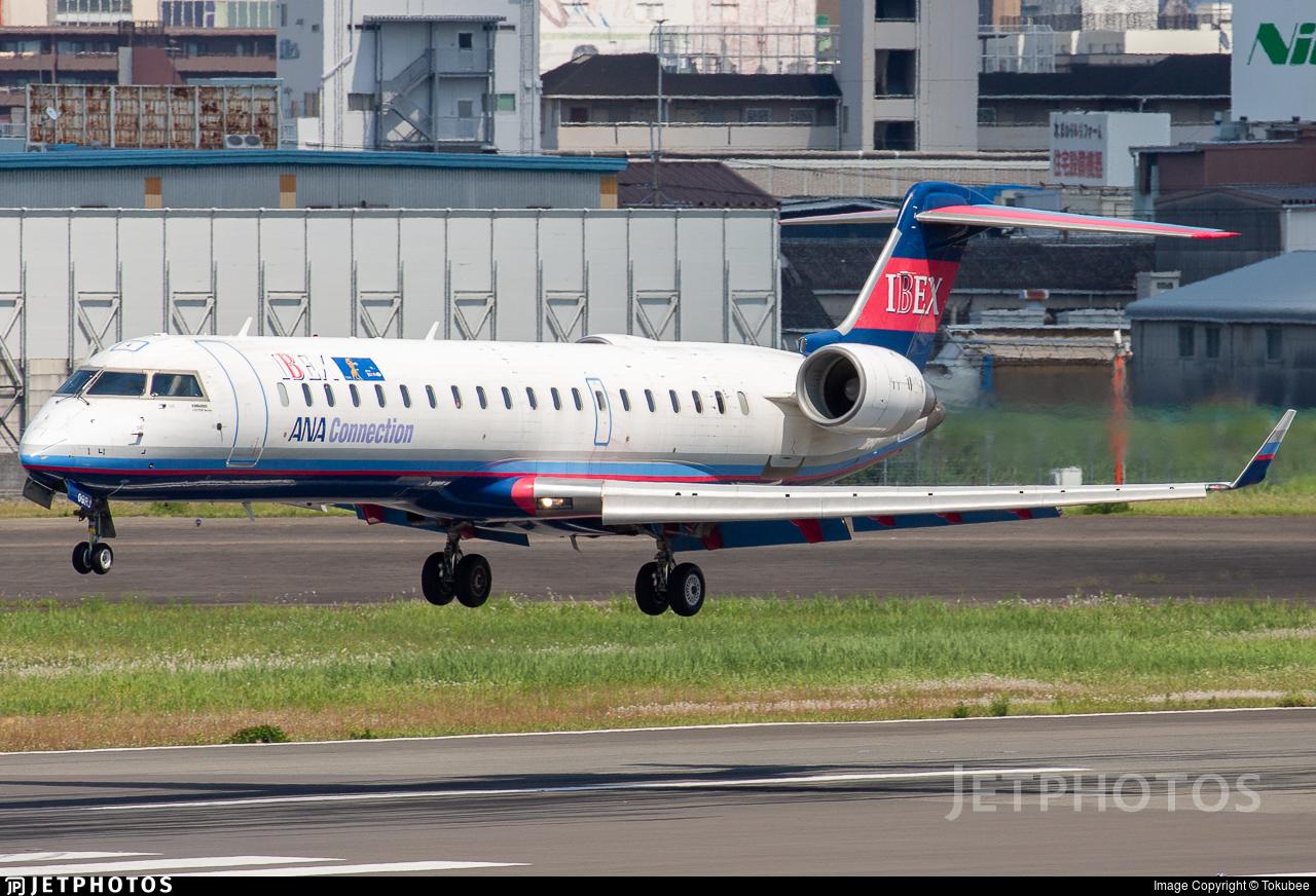 JA09RJ - Bombardier CRJ-702ER - Ibex Airlines