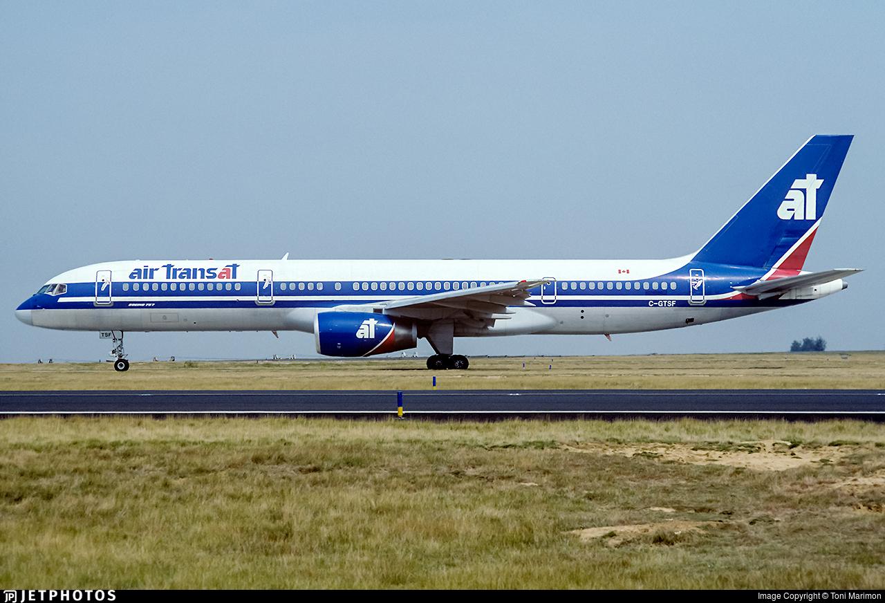 C-GTSF - Boeing 757-23A - Air Transat