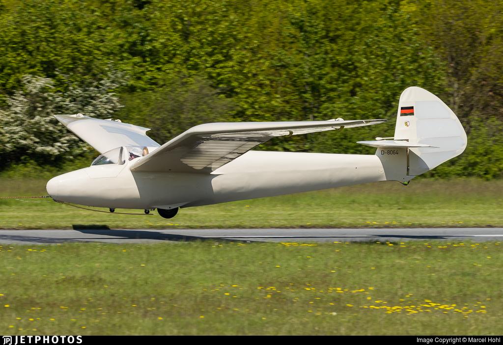 D-8064 - Goppingen Go.III Minimoa - Private