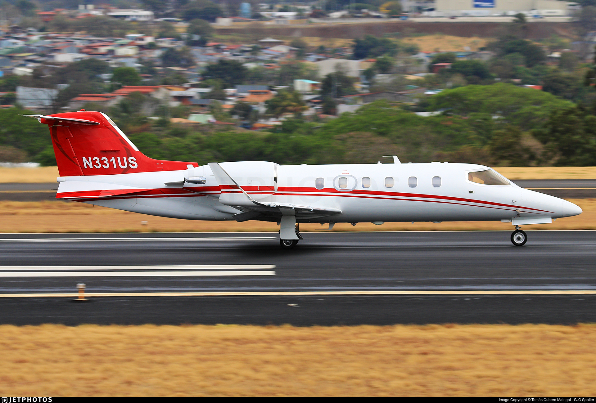 N331US - Bombardier Learjet 31A - Private