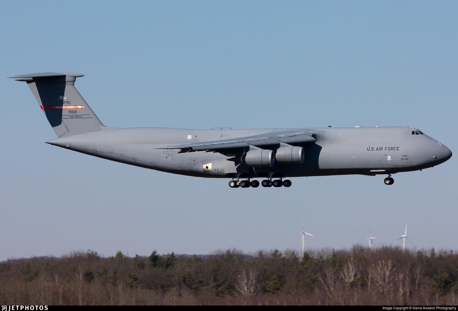 87-0031 - Lockheed C-5M Super Galaxy - United States - US Air Force (USAF)
