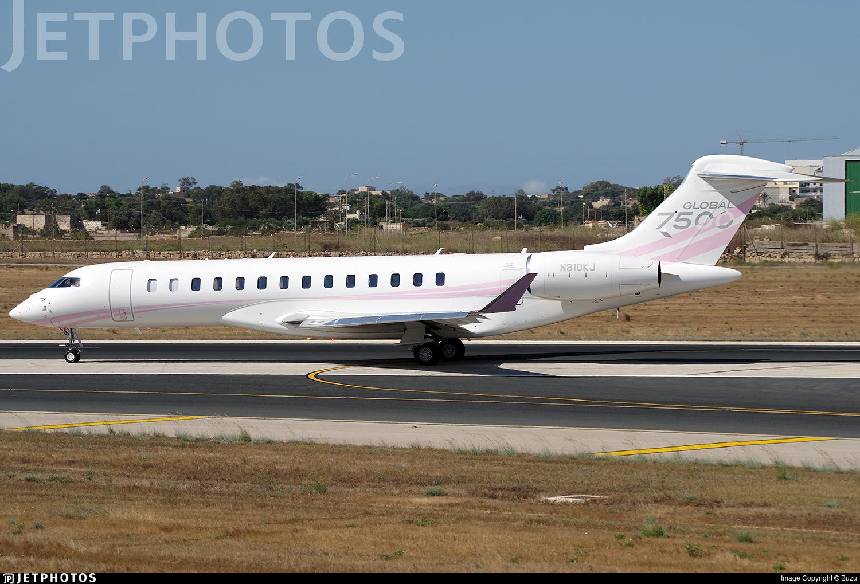 N810KJ - Bombardier BD-700-2A12 Global 7500  - Rise & Shine Air