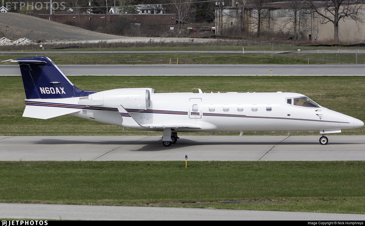 N60AX - Bombardier Learjet 60 - Private