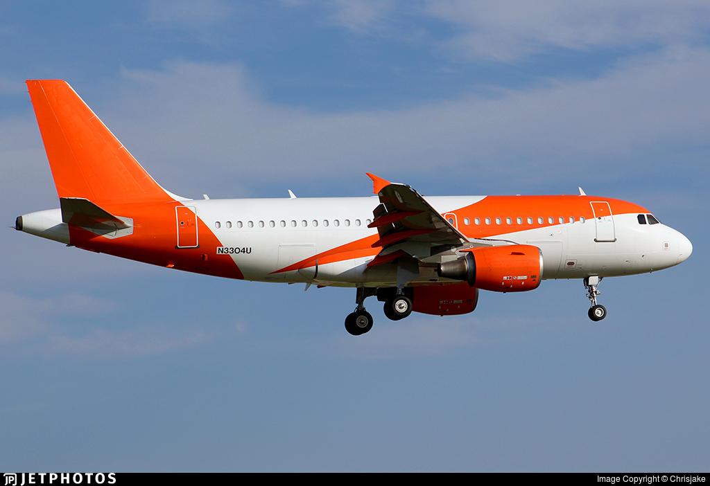 N3304U - Airbus A319-111 - United Airlines