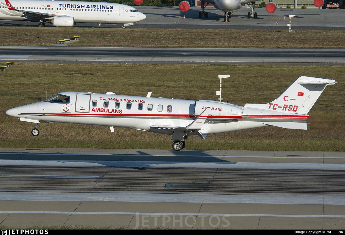TC-RSD - Bombardier Learjet 45 - Turkey - Ministry of Health