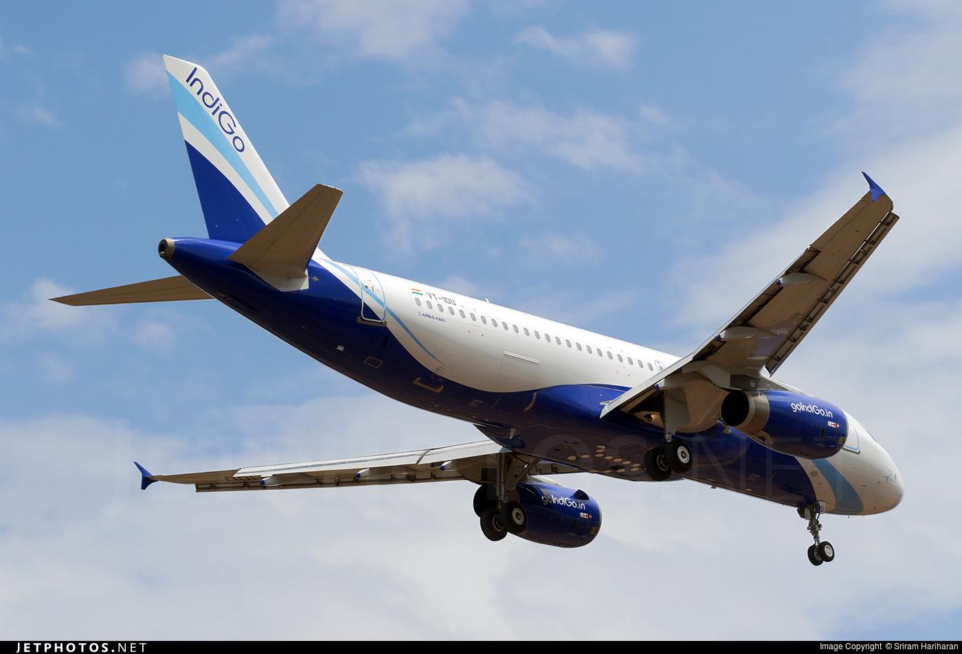 VT-IDU - Airbus A320-232 - IndiGo Airlines