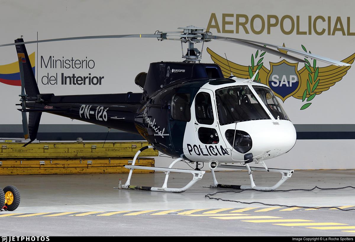 PN-126 - Eurocopter AS 350B2 Ecureuil - Ecuador - Police