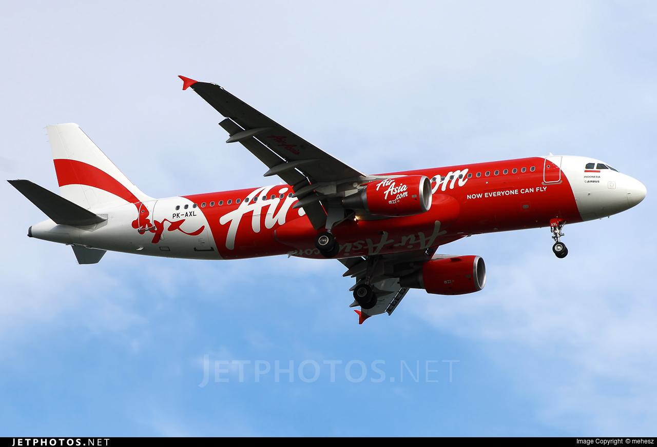 PK-AXL - Airbus A320-216 - Indonesia AirAsia