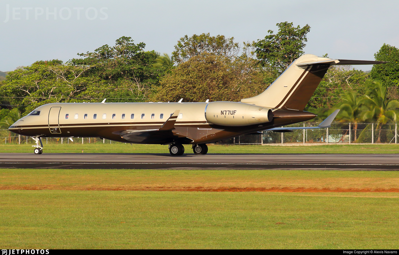 N77UF - Bombardier BD-700-1A10 Global Express XRS - Private