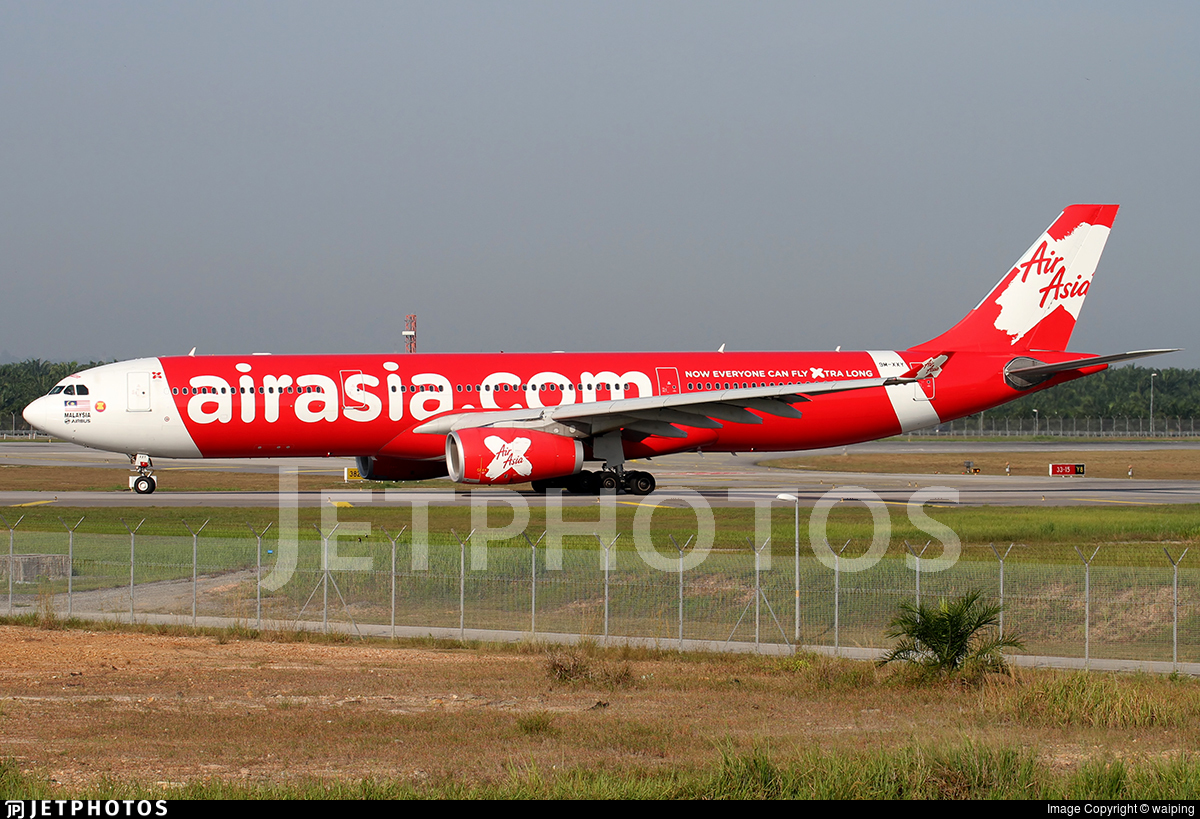 9M-XXY - Airbus A330-343 - AirAsia X