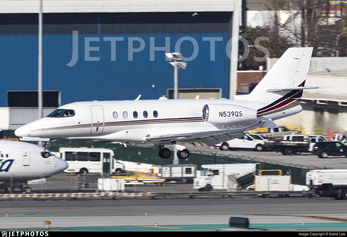 N539QS - Cessna Citation Latitude - NetJets Aviation