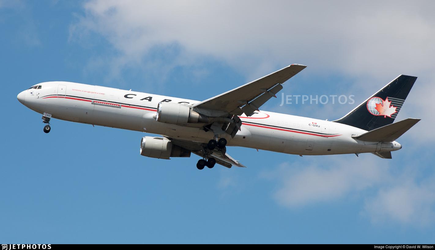 C-GVIJ - Boeing 767-383(ER)(BDSF) - Cargojet Airways