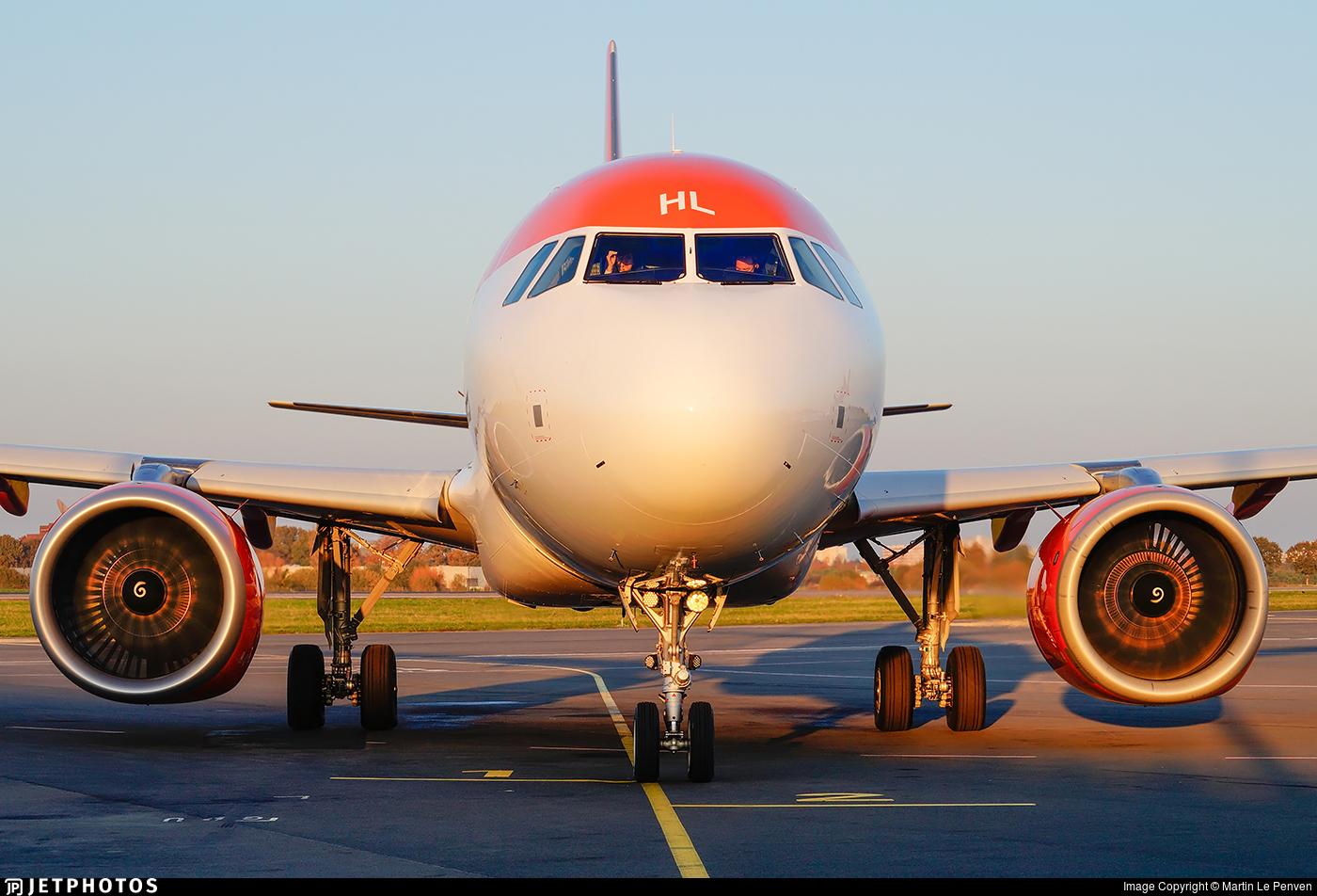 G-UZHL - Airbus A320-251N - easyJet