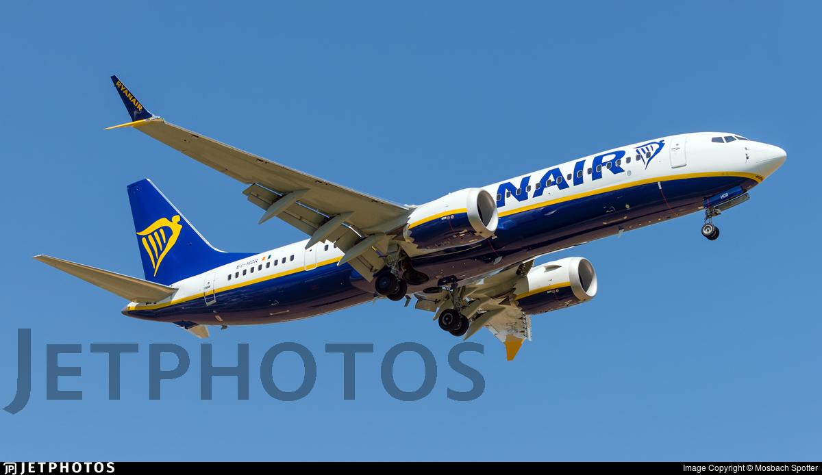 EI-HGR - Boeing 737-8-200 MAX - Ryanair
