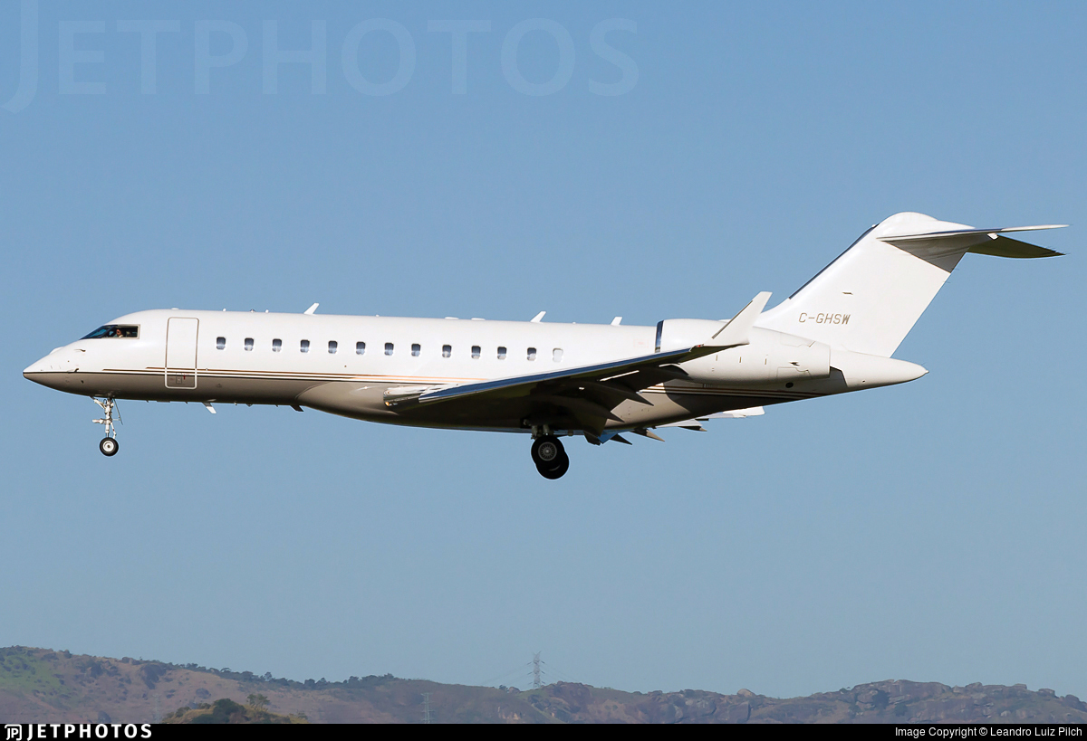 C-GHSW - Bombardier BD-700-1A10 Global Express XRS - Skyservice Business Aviation