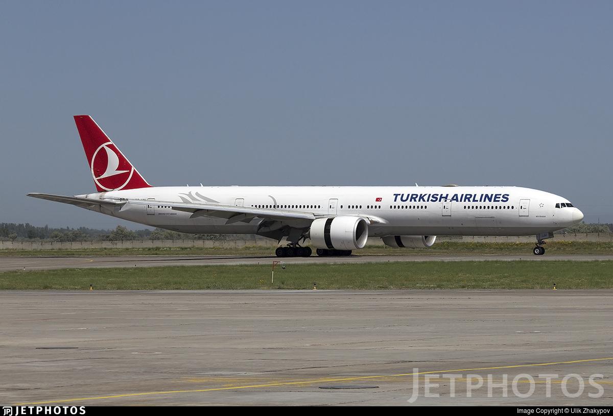 TC-JJU - Boeing 777-3F2ER - Turkish Airlines