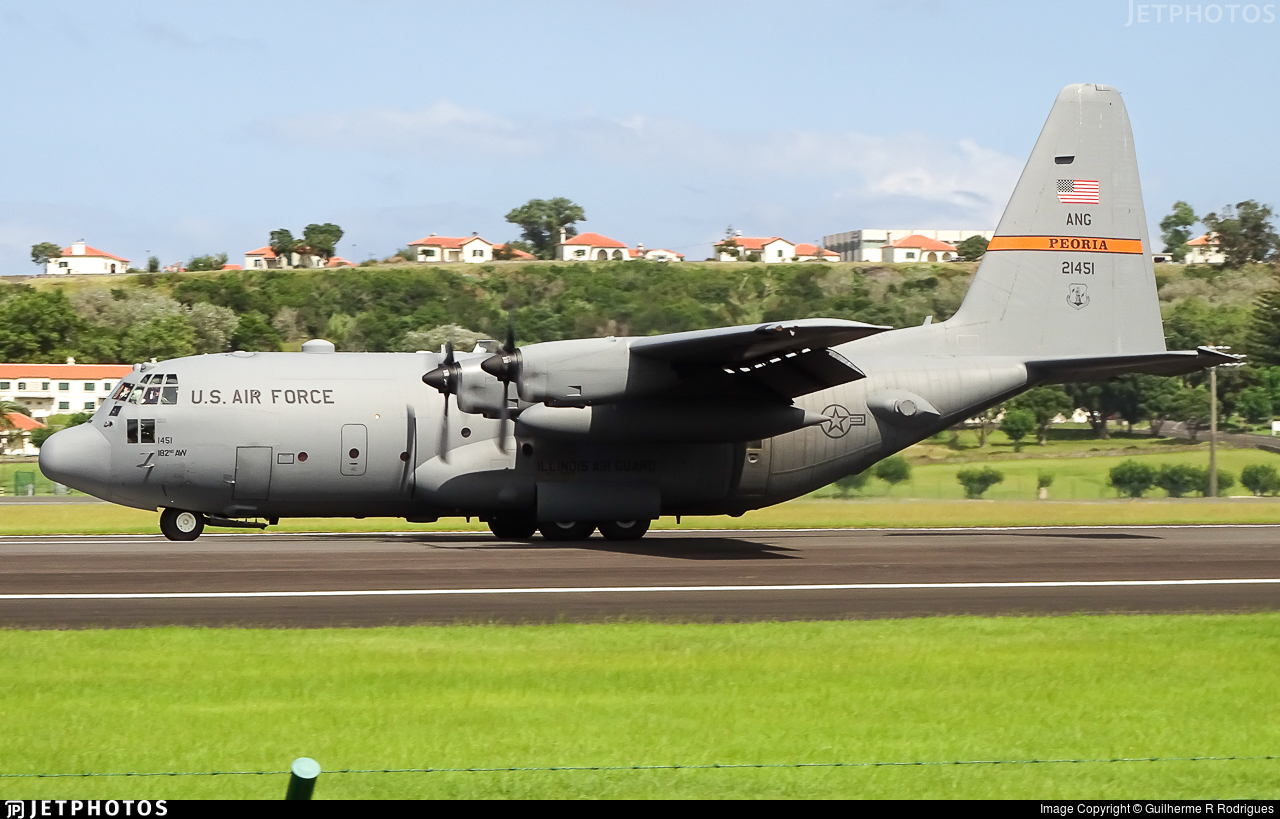 92-1451 - Lockheed C-130H Hercules - United States - US Air Force (USAF)