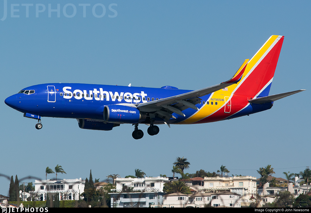 N796SW - Boeing 737-7H4 - Southwest Airlines