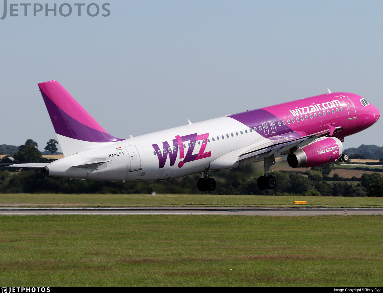Ha Lpy Airbus A320 232 Wizz Air Terry Figg Jetphotos