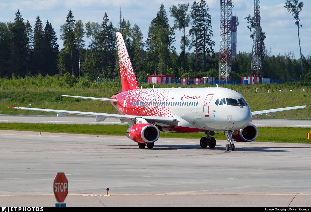 RA-89115 - Sukhoi Superjet 100-95B - Rossiya Airlines