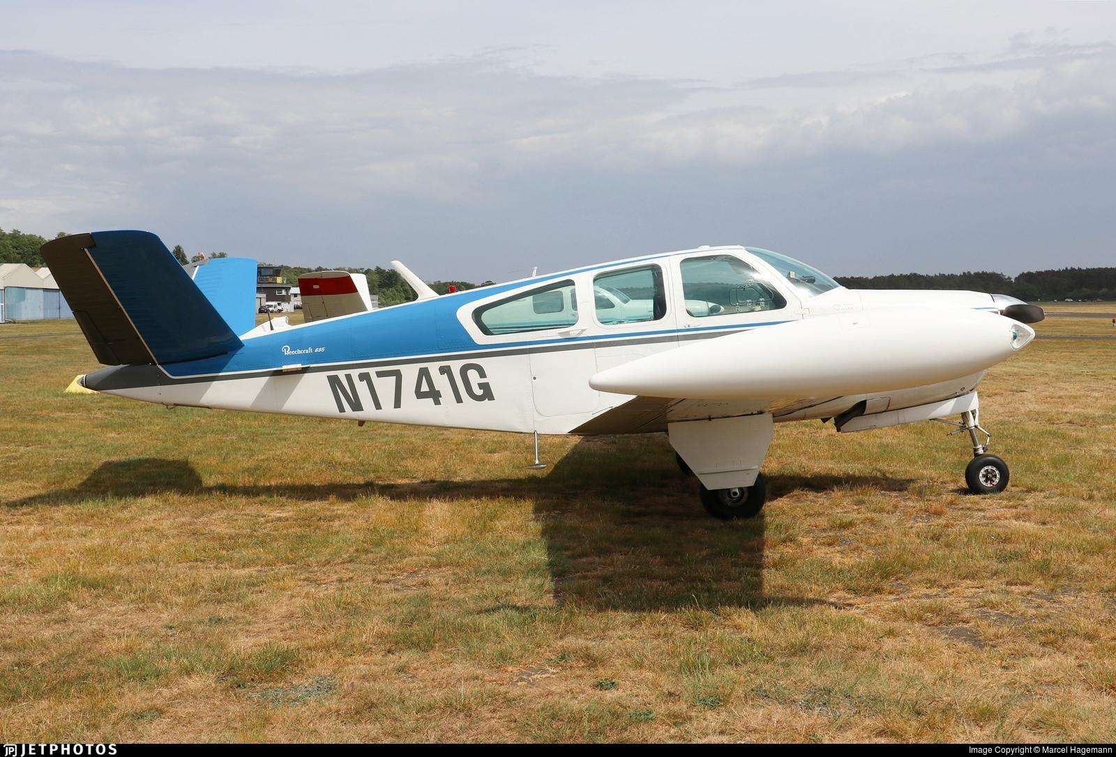 N1741G - Beechcraft G35 Bonanza - Private