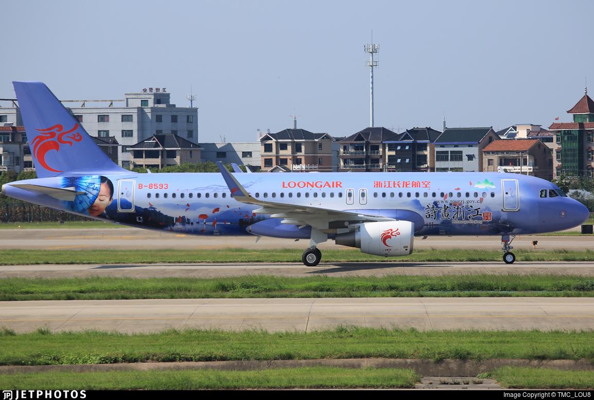 B-8593 - Airbus A320-214 - Loong Air