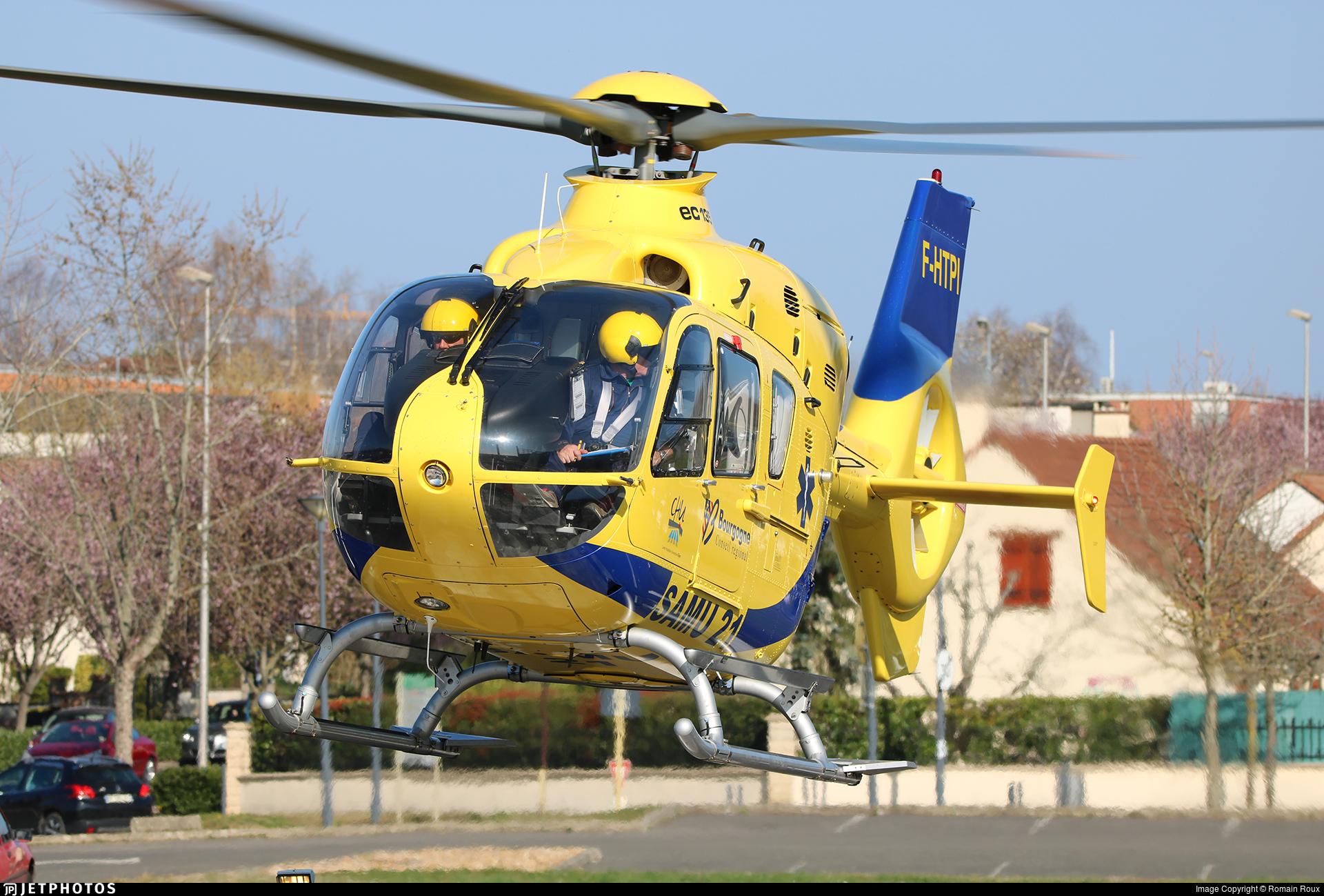 F-HTPI - Eurocopter EC 135T2+ - Babcock MCS France