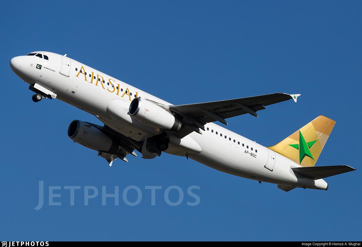AP-BOC - Airbus A320-233 - Air Sial