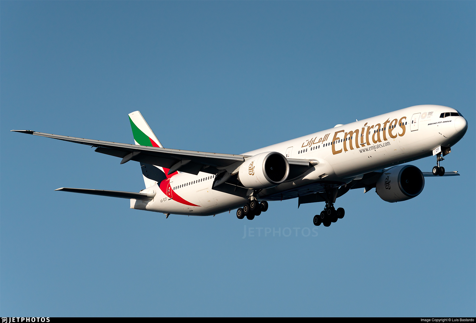 A6-ECF - Boeing 777-31HER - Emirates