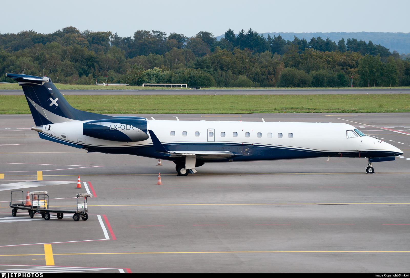 LX-OLA - Embraer ERJ-135BJ Legacy - Luxaviation