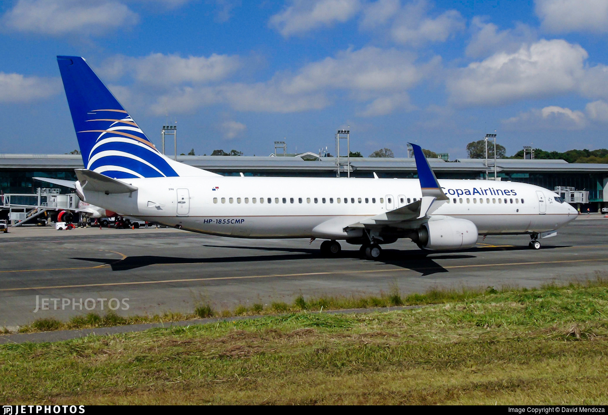 HP-1855CMP - Boeing 737-8V3 - Copa Airlines